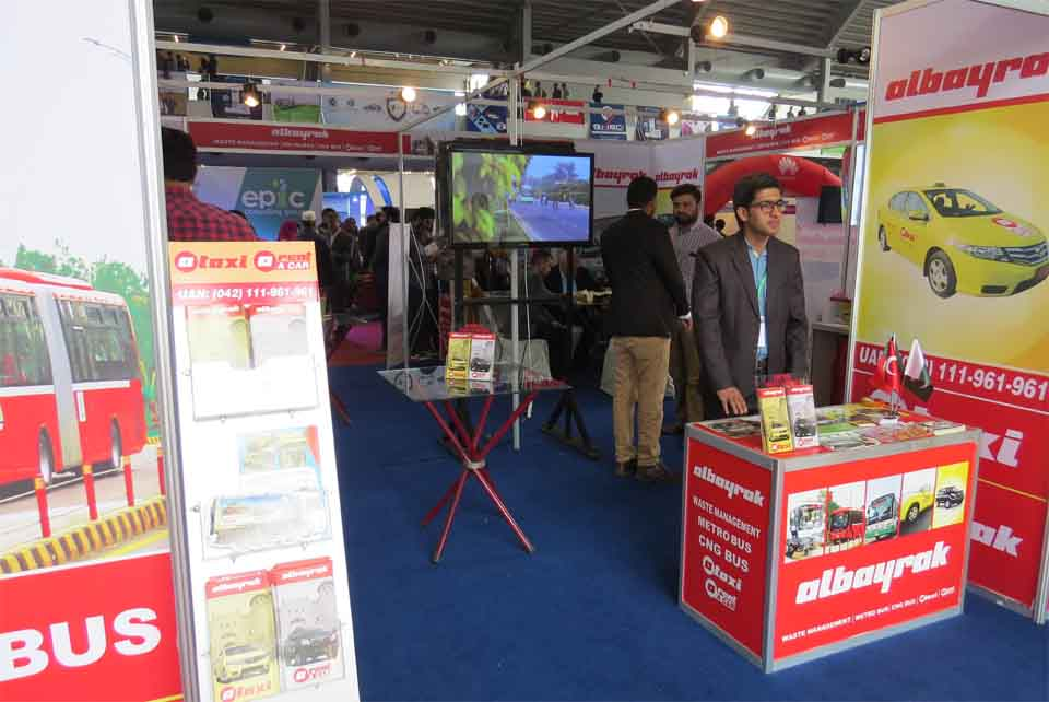 Albayrak Lahore participated in two day International Business Conference and Exhibition at Lahore Expo on Nov 7th-8th.